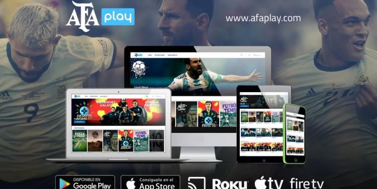 AFA libera su plataforma on demand por 60 días