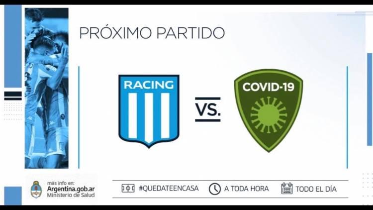 Racing desafió al coronavirus