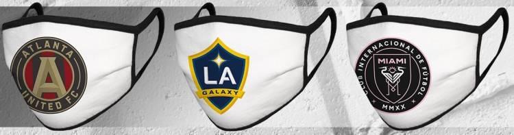 """La MLS lanza una línea de """"tapabocas"""" de cada franquicia"""