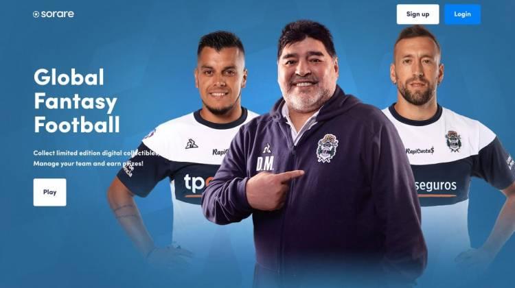 Gimnasia llega a Sorare, global fantasy football