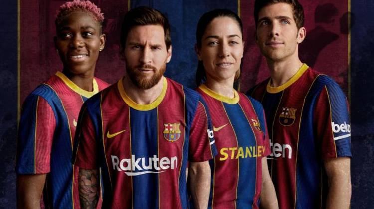 Nike presenta oficialmente la nueva camiseta del FC Barcelona para la temporada 2020/21