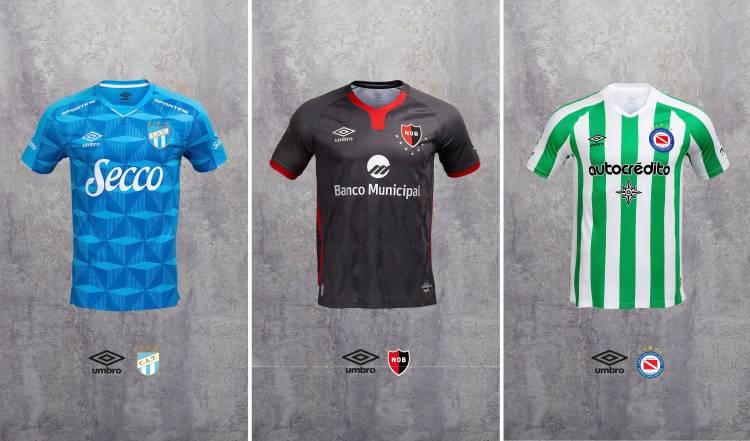 Umbro presentó las camisetas de sus equipos de una forma diferente