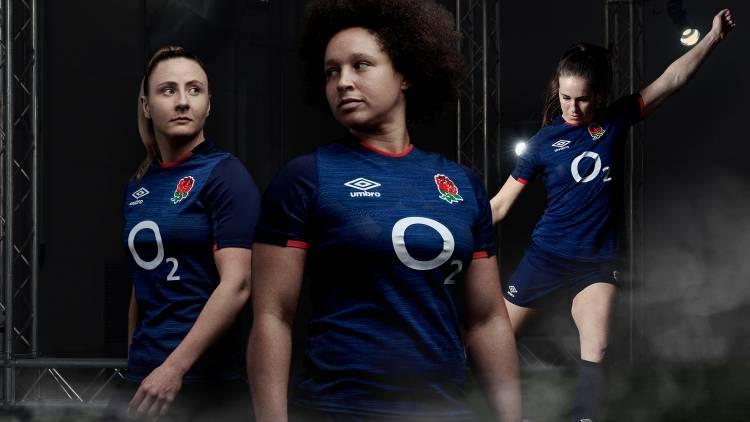Umbro devela el nuevo kit de rugby de Inglaterra