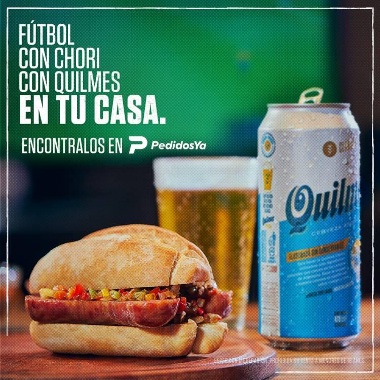 Quilmes presenta su campaña e-Chori