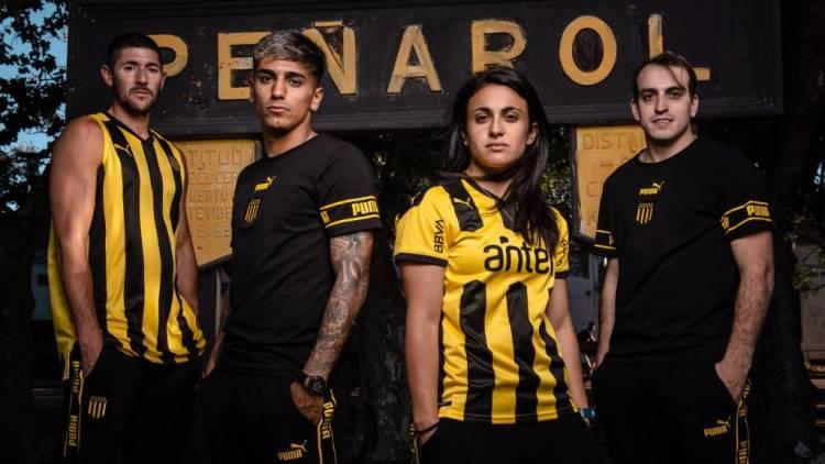 Puma presenta la nueva camiseta de Peñarol