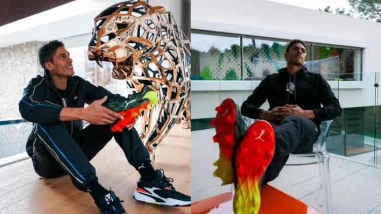 Raphaël Varane cambia Nike por Puma