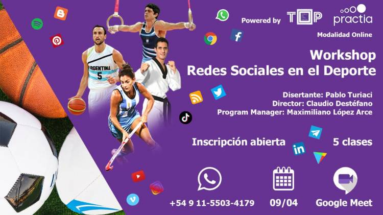 Workshop de Redes Sociales en el Deporte