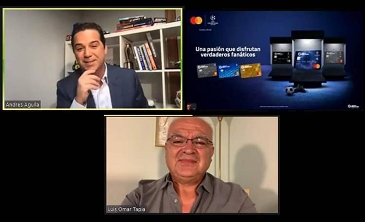 Mastercard y Banco Industrial reunieron a Andrés Agulla y Luis Omar Tapia