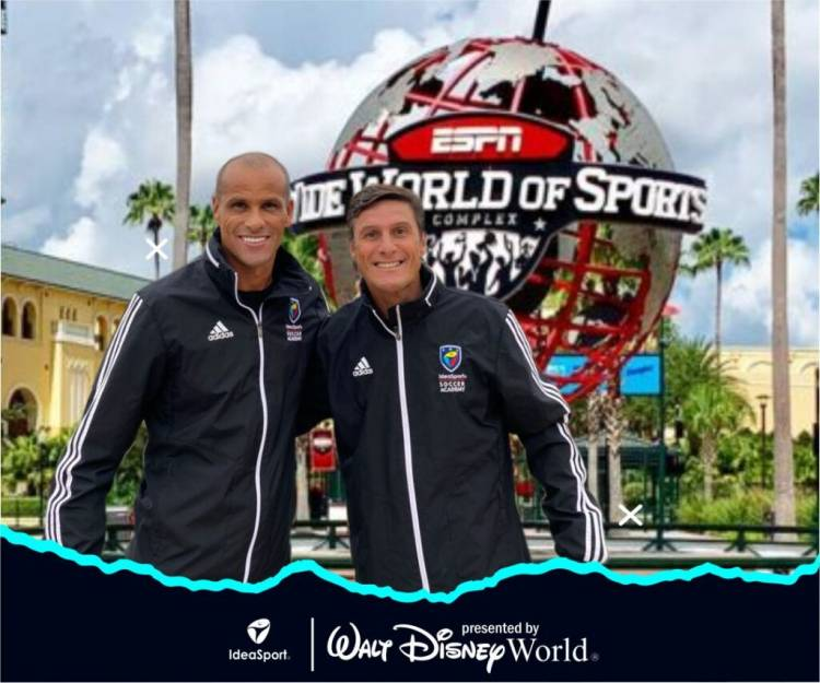 Zanetti y Rivaldo se convierten en embajadores de IdeaSport